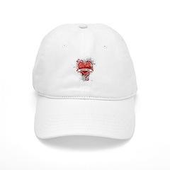 Heart Shar Pei Baseball Cap