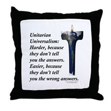 UUF Hard Easy Throw Pillow