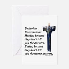 UUF Hard Easy Greeting Card