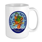 607th AC&W Squadron Large Mug
