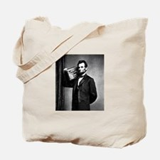 Cute Boom box abe lincoln Tote Bag
