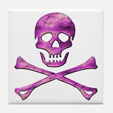 Jolly Roger 6 Tile Coaster