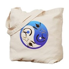 YinYang Cats Tote Bag