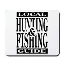 Hunting & Fishing Guide Mousepad