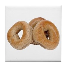 Some Bagels On Your Tile Coaster