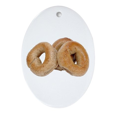 Some Bagels On Your Keepsake (Oval)