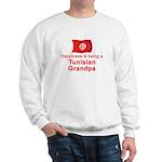 Happy Tunisian Grandpa Sweatshirt