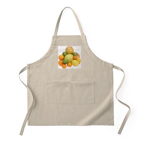 Some Citrus Fruit On Your BBQ Apron