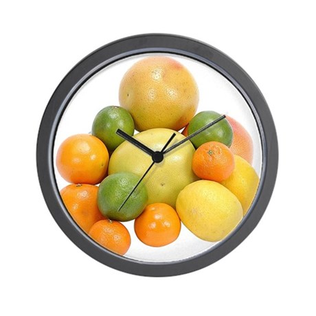 Some Citrus Fruit On Your Wall Clock