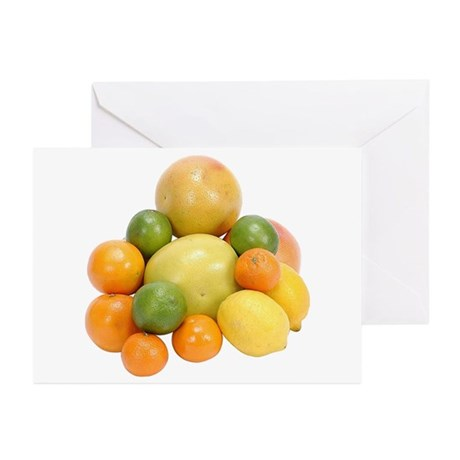 Some Citrus Fruit On Your Greeting Cards (Package