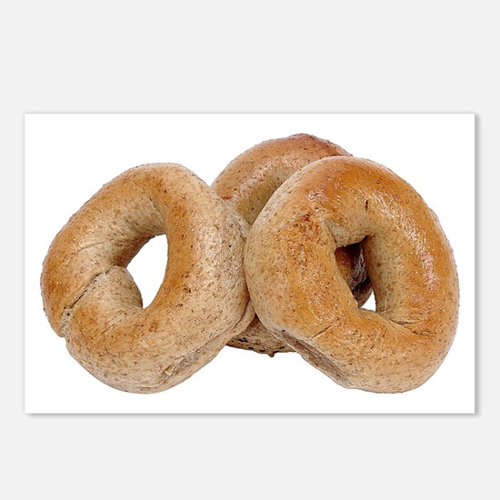 Some Bagels On Your Postcards (Package of 8)