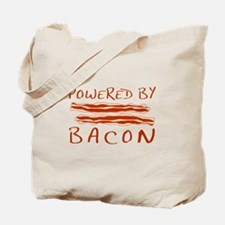 Powered By Bacon Tote Bag
