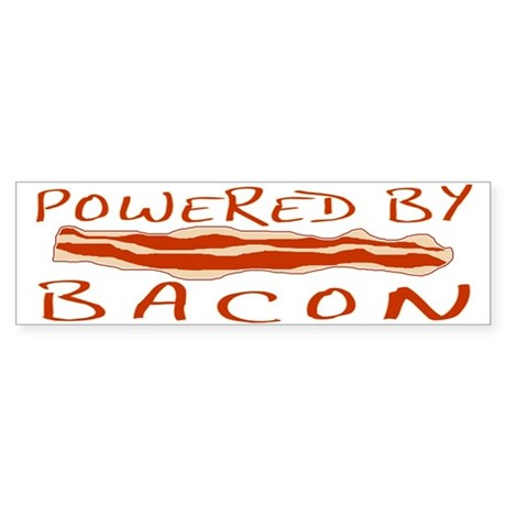 Powered By Bacon Sticker (Bumper 10 pk)