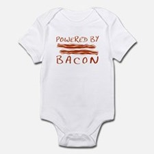 Powered By Bacon Infant Bodysuit
