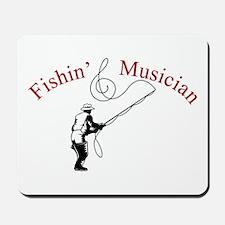 Fishin Musician Mousepad