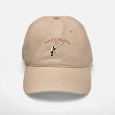 Fishin Musician Baseball Baseball Cap