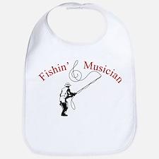 Fishin Musician Bib