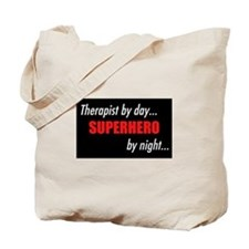 Superhero Therapist Tote Bag