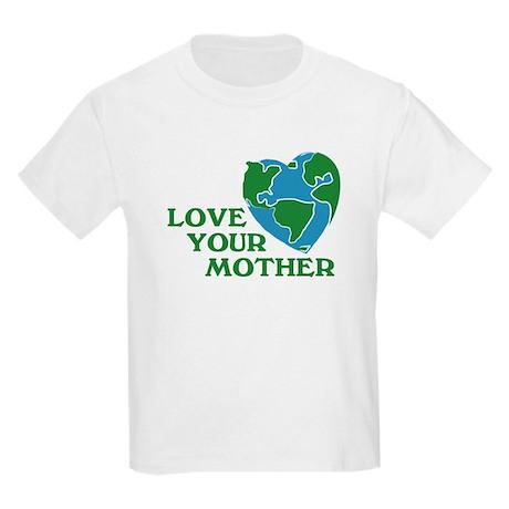 Love Your Mother Kids Light T-Shirt