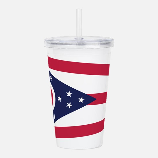 Cute Great lakes state Acrylic Double-wall Tumbler