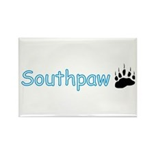 Southpaw (Bear) Rectangle Magnet