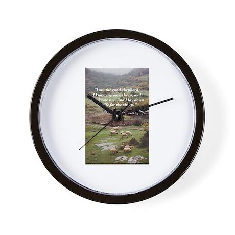 The Good Shepherd Wall Clock