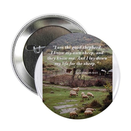 "The Good Shepherd 2.25"" Button"