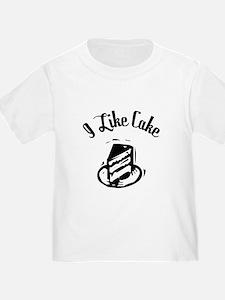 I Like Cake: T
