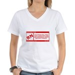 Rated RN Women's V-Neck T-Shirt