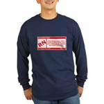 Rated RN Long Sleeve Dark T-Shirt
