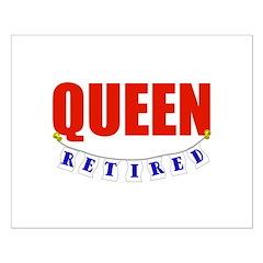 Retired Queen Posters