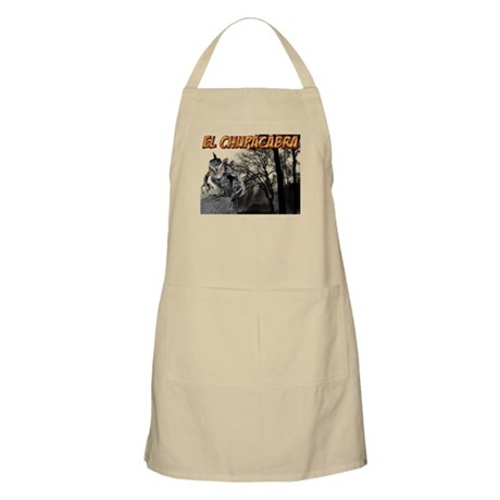 Chupacabra in the Woods 5 BBQ Apron