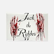 Bloody Hands Jack Rectangle Magnet
