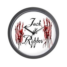 Bloody Hands Jack Wall Clock