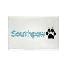 Southpaw (Wolf) Rectangle Magnet