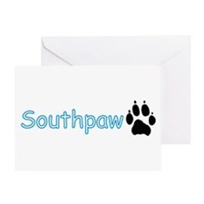 Southpaw (Wolf) Greeting Card