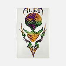 Alienwear Tribal 17B Rectangle Magnet