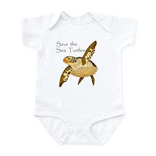 Save Sea Turtles Infant Bodysuit