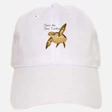 Save Sea Turtles Baseball Baseball Cap