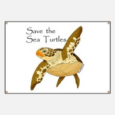 Save Sea Turtles Banner