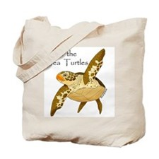 Save Sea Turtles Tote Bag