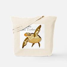 Save Sea Turtles Tote Bag