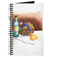 Fruit with Wine Journal recipe book,