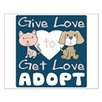 Give Love to Get Love Small Poster