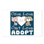Give Love to Get Love Postcards (Package of 8)