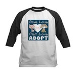 Give Love to Get Love Kids Baseball Jersey