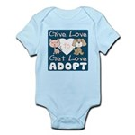 Give Love to Get Love Infant Bodysuit