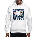 Give Love to Get Love Hooded Sweatshirt