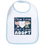 Give Love to Get Love Bib