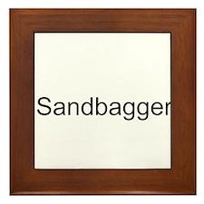 Sandbagger Framed Tile